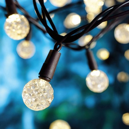 Mainstays Diamond-Cut G8 Lights, 50 -