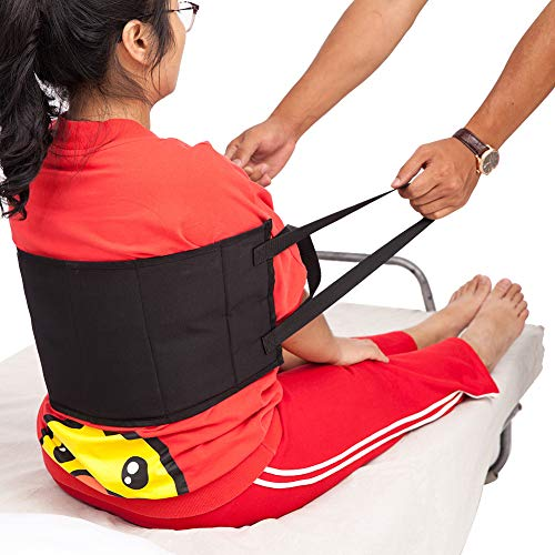 - Transfer Sling, Padded Patient Lift Sling Transfer Belt, Soft Moving Assist Hoist Gait Belt Harness Device, Medical Belt for Wheelchair, Bed ZYD01