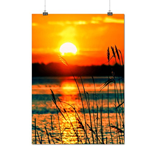 forest-river-sunset-lake-view-matte-glossy-poster-a1-24x33-inches-wellcoda