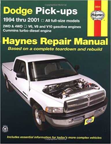 Dodge pick ups 1994 2001 haynes repair manuals haynes dodge pick ups 1994 2001 haynes repair manuals 2nd edition fandeluxe Images