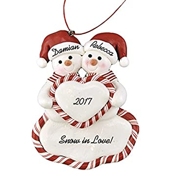 Claus Christmas Ornament PartialUpdate Kurt Adler Porcelain Kissing Santa And Mrs