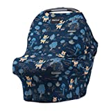 DISNEY COLLECTION The Original Milk Snob Infant Car Seat Cover and Nursing Cover Multi-Use 360° Coverage Breathable Stretchy 'Winnie the Pooh'