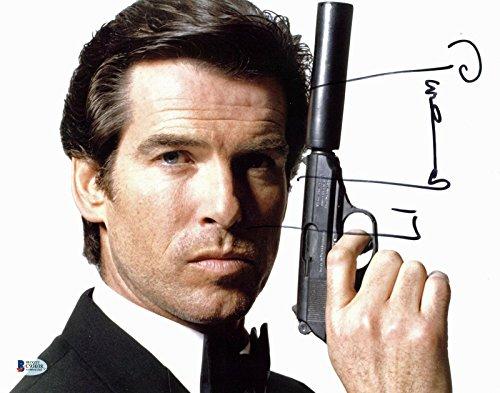 - Pierce Brosnan James Bond 007 Signed 11x14 Photo BAS #C93038 - Beckett Authentication