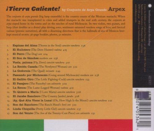 Tierra Caliente: Music From Hotlands Of Michoacan By Conjunto De ArpaGrande Arpex