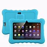 7'' Kids Tablet PC, Ainol Q88 Android 4.4 External 3G 8GB ROM 512MB RAM Tablet with Dual Camera WIFI USB Phablet (Blue)