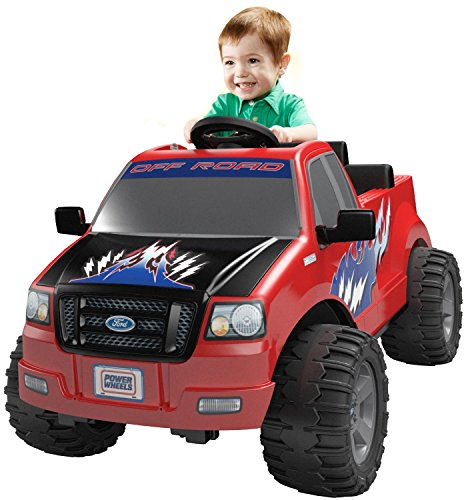 Ford Electric Vehicles - Power Wheels Ford Lil' F-150