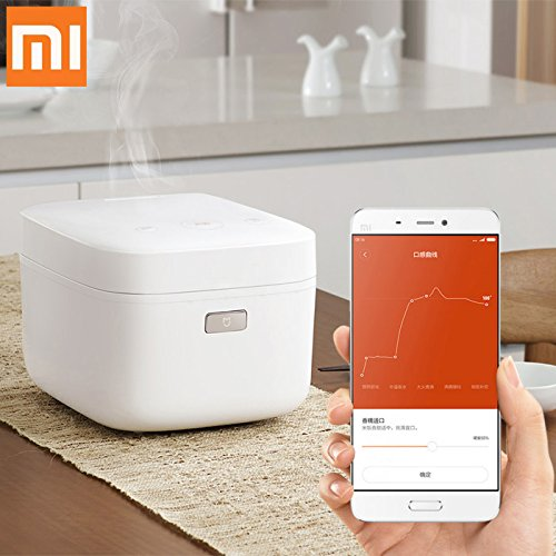Price comparison product image BuyYourWish Original Xiaomi Mi Pressure Smart Electric Rice Cookert Non-stick Pan Mini Rice Cooker with APP One Piece