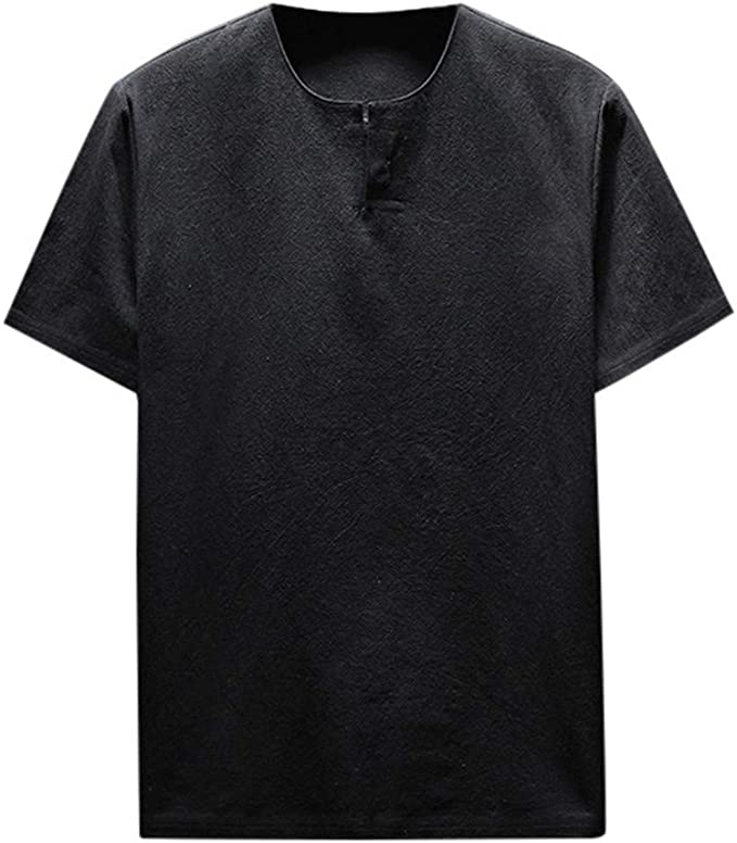 Camisas Hombre Tallas Grandes, Lanskirt Camiseta de Manga Corta ...