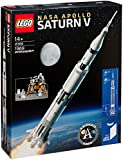 LEGO Saturn V 21309 LEGO Ideas Nasa Apollo Saturn V 21309 Building Kit (1969 Piece) age 14 years and up