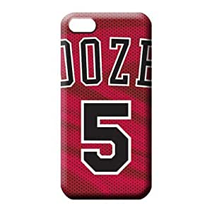 iphone 6plus 6p Sanp On Scratch-free Hot New mobile phone back case chicago bulls nba basketball