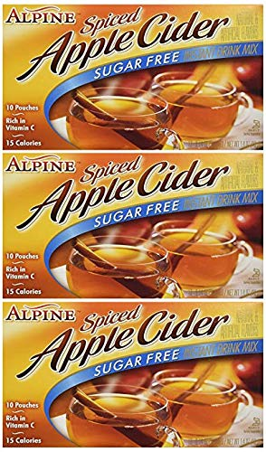 (Spiced Cider, Sugar Free Apple Flavored Drink Mix, 1.4oz Box (Pack of 3))