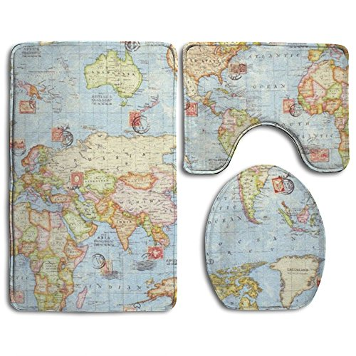 World Map Rug Costco: Looking For A Toilet Seat Zen? Have A Look At This 2019