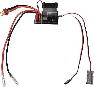 Dilwe RC Modelo ESC, Controlador Velocidad RC Alto Voltaje 320A ...