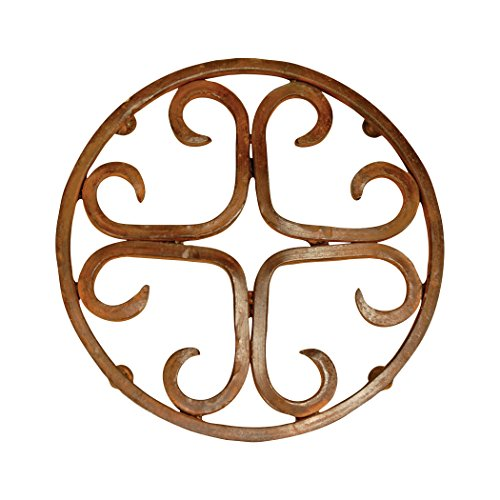 Traditional Décor Collection Tejas Round Trivet