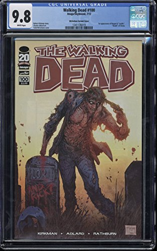 Walking Dead #100 CGC 9.8 W Pages 1st Negan McFarlane Variant Cover