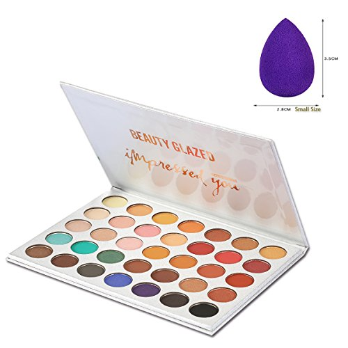 Beauty Glazed Professional Cosmetic Matte Shimmer Eyeshadow