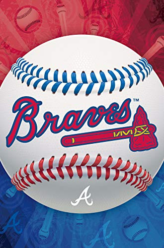 Atlanta Wall - Trends International Atlanta Braves - Logo Wall Poster, 22.375