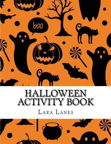 Halloween Activity Book: Large Print Word Search, Dot