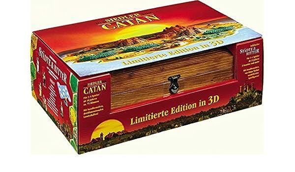 Mayfair Los colonos de Catan 10th Aniversario edición: Amazon.es: Juguetes y juegos