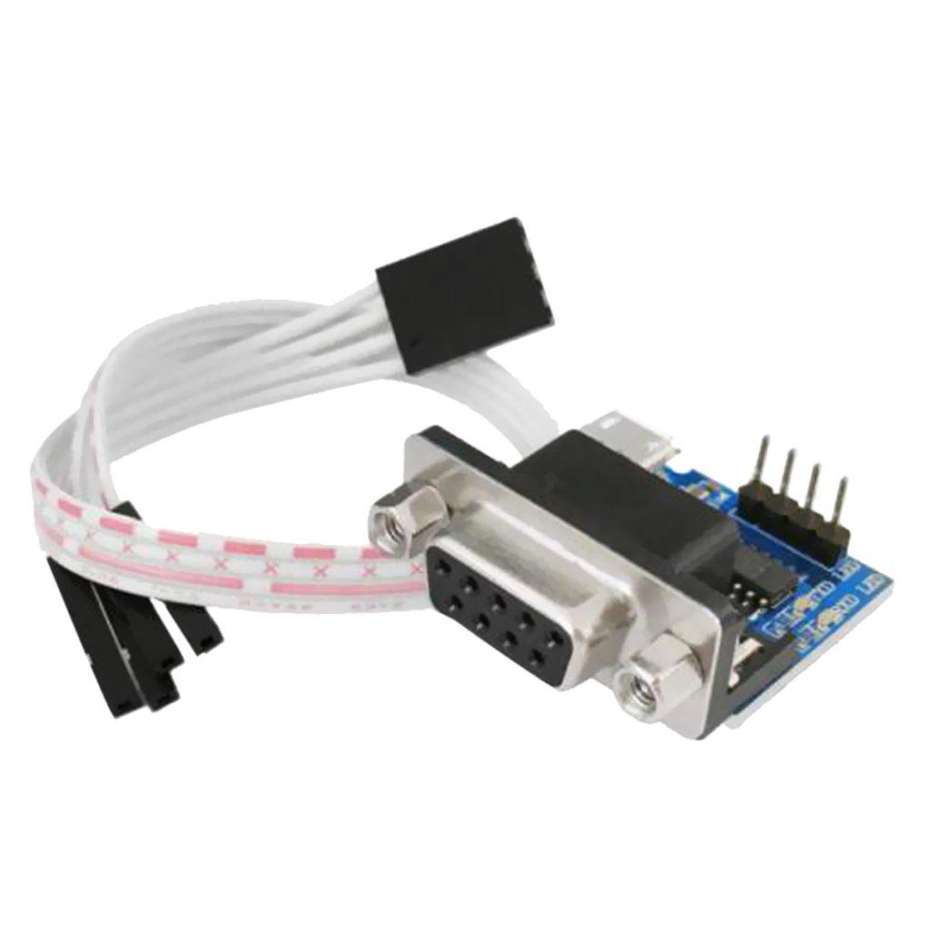 MagiDeal Konverter-Adapter - MAX3232CSE Rs232 Serial Port zu TTL Modul-Seriell-Konverter-Adapter Fü r Arduino STK0160000376