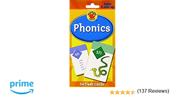 Phonics Flash Cards (Brighter Child Flash Cards): Brighter Child ...