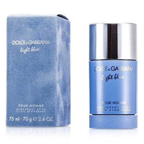Dolce & Gabbana Light Blue Pour Homme Deodorant Stick for Men, 2.4 Ounce