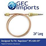 WS-680-05 Fireplace 24'' Thermocouple