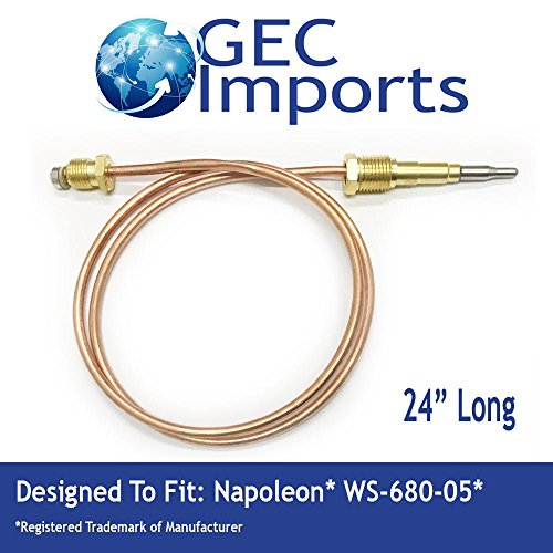 WS-680-05 Fireplace 24'' Thermocouple by GEC Products