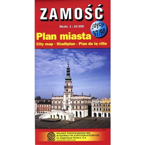 Zamosc City Map Unknown