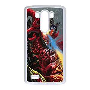 dragon flames LG G3 Cell Phone Case Whitepxf005-3769513