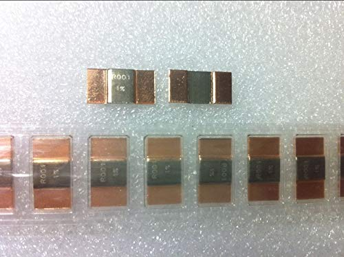 Lysee 10pcs Precision alloy resistive shunt resistor SMD 7W R001 0.001 ohm accuracy of 1/% SMD 1575