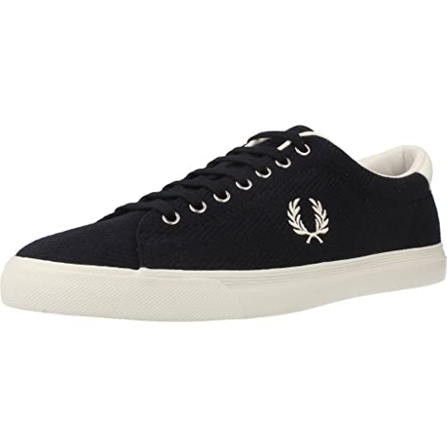 Fred Perry - Fred Perry Underspin Henrringbone - Azul, 40: Amazon.es: Zapatos y complementos
