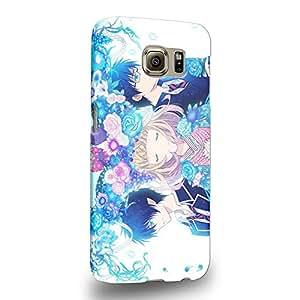 Case88 Premium Designs Blue Exorcist Rin Okumura Yukio Okumura 1722 Carcasa/Funda dura para el Samsung Galaxy S6 (No Edge versión !)