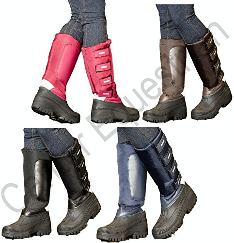 Brown Tall Black Snow Boots Reflective Navy or Burgundy Mucker Thermo Burgundy 1Zqz1pw
