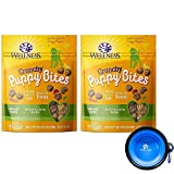 Wellness Puppy Bites for Dogs Bundle 2 Pack – 12 oz. (Chicken Carrots) Review