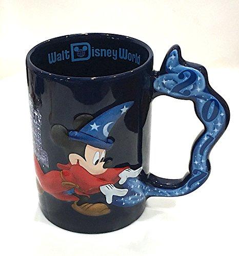 Walt Disney World 2017 Large Sorcerer Mickey Mouse Mug - Walt Disney World Coffee
