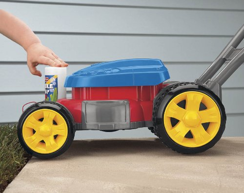 Fisher-Price - B0109-0 - Cortacésped burbujas turbo (Mattel): Amazon.es: Juguetes y juegos