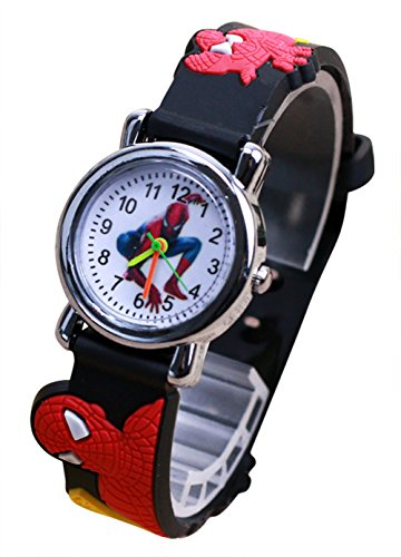 Kids Cartoon Watch, Waterproof 3D Cute Watches Time Teacher Gifts for Toddler Boys Girls by MISIEA