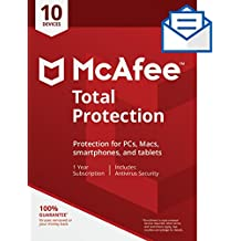 McAfee Total Protection - 10 Devices [Activation Card by Mail]