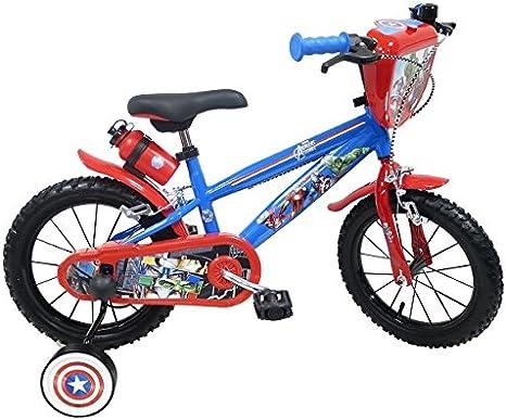 EDEN-BIKES Avengers - Bicicleta Infantil, Multicolor, 14