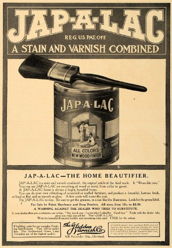 1907-ad-jap-a-lac-stain-varnish-combo-can-wood-finish-original-print-ad
