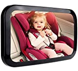GIFTiz Baby Car Mirror - Crystal Clear View, Secure & Crash Tested, X-Large
