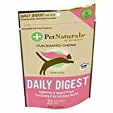 Pet Naturals of Vermont Daily Digest Fish-Shaped Chews for Cats, My Pet Supplies