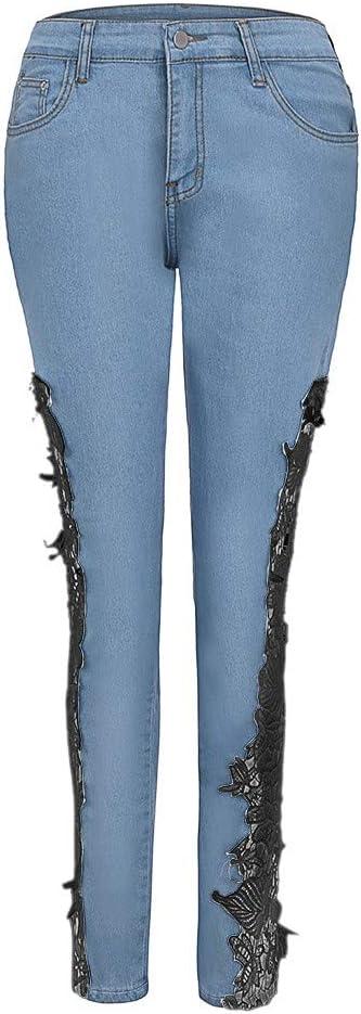 Damskie spodnie jeansowe, eleganckie, damskie spodnie dżinsowe, skinny z dziurkami, wyszywane kwiaty, seksowne spodnie sportowe, outdoorowe dżinsy dżinsy dżinsy damskie, legginsy, ołÓwki, Weant: