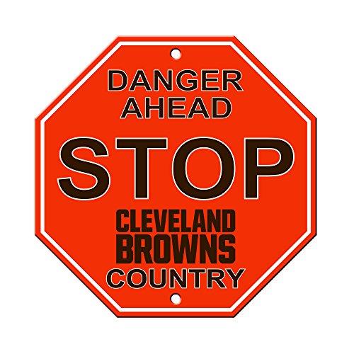 (NFL Cleveland Browns Stop Sign, 12