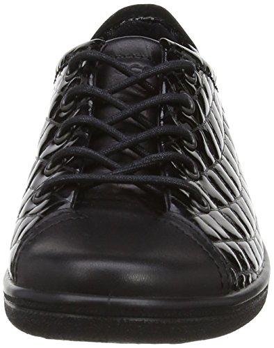 black black Ii Ecco Basse Stringate 53859 Scarpe Derby Soft Nero Donna 8wxFZzCq