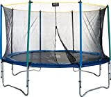 Pure Fun 12-Foot Trampoline with Enclosure Set