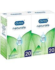 Durex Naturals 40'lı Prezervatif, 1 Paket(1 x 40 adet)