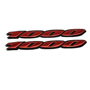 KODASKIN DE Motorrad 3D Raise Emblem Aufkleber Fur Suzuki GSXR1000 K4 K6 K7 K8