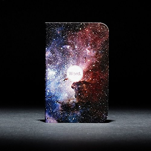 Word. Notebooks Intergalactic - 3-Pack Small Pocket Notebooks